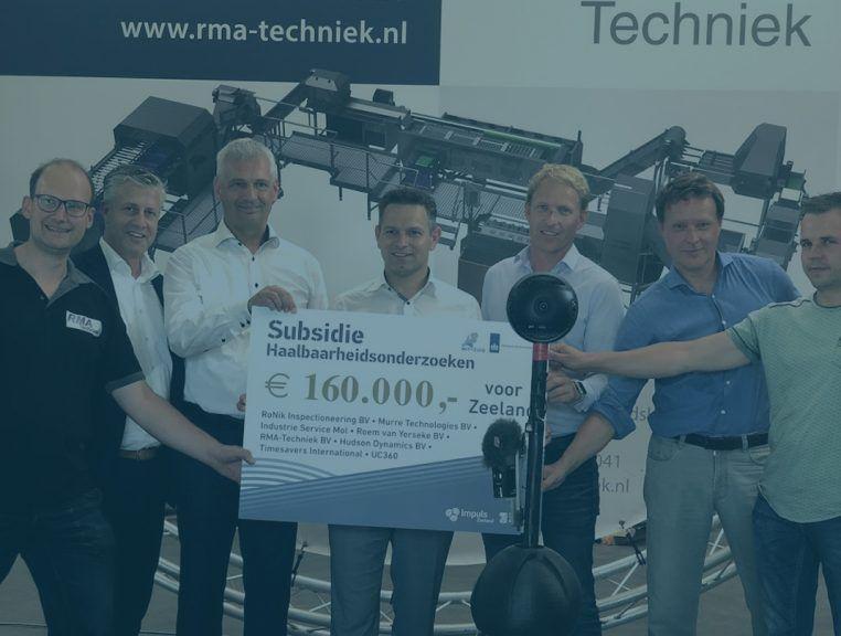 € 160.000 voor MIT Haalbaarheidsronde Zeeland